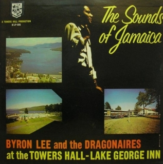 vinyl LP BYRON LEE and THE DRAGONAIRES The Sounds Of Jamaica