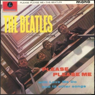 vinyl LP THE BEATLES Please Please Me
