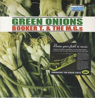 vinyl LP BOOKER T. and THE M.G.´s  Green Onions