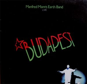 vinyl LP MANFRED MANN´S EARTH BAND Budapest (Live)