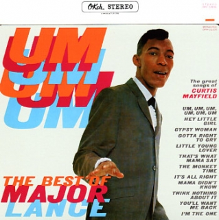 vinyl LP MAJOR LANCE Best Of Major Lance