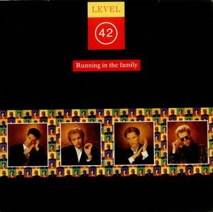 vinyl LP LEVEL 42 Running In The Family