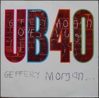 vinyl LP UB40 Geffery Morgan