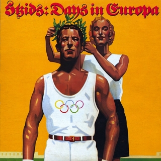 vinyl LP SKIDS Days In Europa