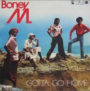 vinyl LP BONEY M Gotta Go Home