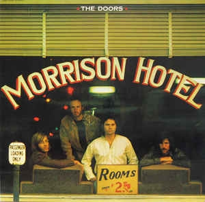 vinyl LP THE DOORS Morrison Hotel