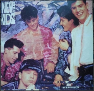 vinyl LP NEW KIDS ON THE BLOCK Step By Step
