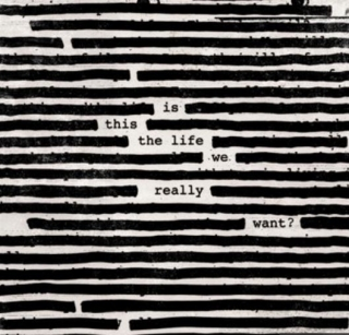 vinyl 2LP ROGER WATERS Is This the Life We Really Want?