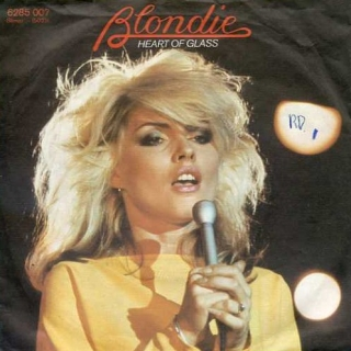 "vinyl 7""SP BLONDIE Heart Of Glass"