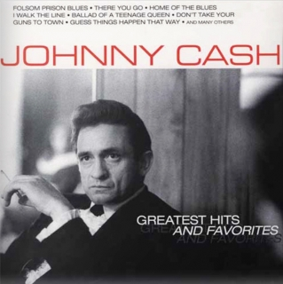 vinyl 2LP JOHNNY CASH Greatest Hits and Favorites