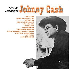 vinyl LP JOHNNY CASH Now Here´s Johnny Cash