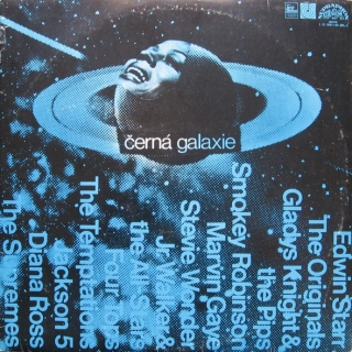 vinyl 2LP VARIOUS ARTISTS Černá galaxie