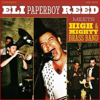 vinyl LP ELI PAPERBOY REED  Eli Paperboy Reed Meets High & Mighty Brass Band