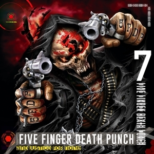 vinyl 2LP FIVE FINGER DEATH PUNCH And Justice For None