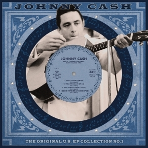 "vinyl 10"" EP  JOHNNY CASH  Us Ep Collection Vol. 1"