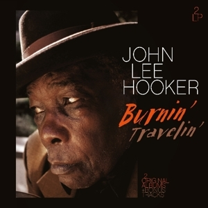 vinyl 2LP JOHN LEE HOOKER Burnin'/Travelin'