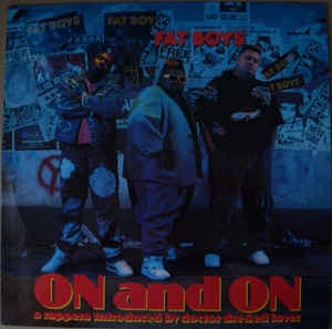 vinyl LP FAT BOYS On And On