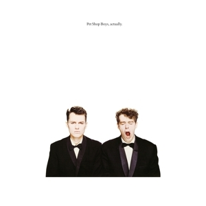 vinyl LP PET SHOP BOYS Actually