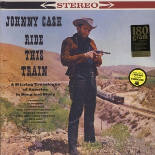 vinyl LP Johnny Cash ‎– Ride This Train
