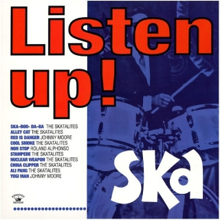 vinyl LP LISTEN UP! Ska