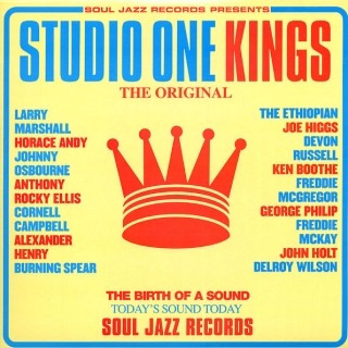vinyl 2LP STUDIO ONE KINGS