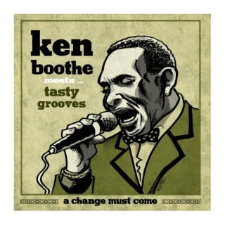 "vinyl 7""SP KEN BOOTHE meets TASTY GROOVES A Change Must Come"