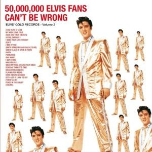 vinyl LP ELVIS PRESLEY 50.000.000 ELVIS FANS CAN'T BE WRONG