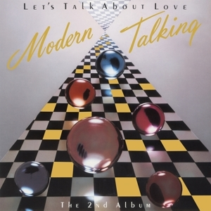 vinyl LP MODERN TALKING LET'S TALK ABOUT LOVE (THE 2ND ALBUM) (Cherry red vinyl)