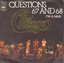 "vinyl 7""SP CHICAGO Questions 67 and 68"
