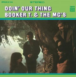 vinyl LP BOOKER T.&MG´S DOIN´OUR THING