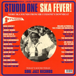 vinyl 2LP STUDIO ONE SKA FEVER