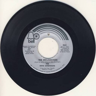 "7""SP 5Th DIMENSION,THE - The Declaration"