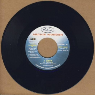 "vinyl 7""SP ARCHIE WONDER I Cry"