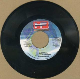 "vinyl 7""SP NORRISMAN Survival"
