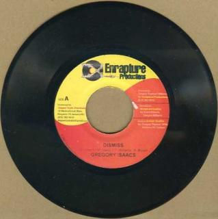 "vinyl 7""SP GREGORY ISAACS Dismiss"