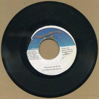 "vinyl 7""SP JC LODGE & SUGAR MINOTT Since come in to my life"