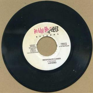 "vinyl 7""SP LUCIANO Desperate lover"