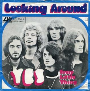 "vinyl 7""SP YES Looking around"