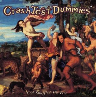 vinyl LP CRASH TEST DUMMIES God Shuffled His Feet