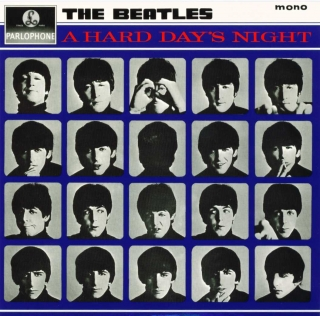 vinyl LP THE BEATLES in Mono - A Hard Day's Night