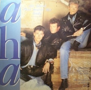 "vinyl 12""maxi SP A-HA The Blood That Moves The Body"