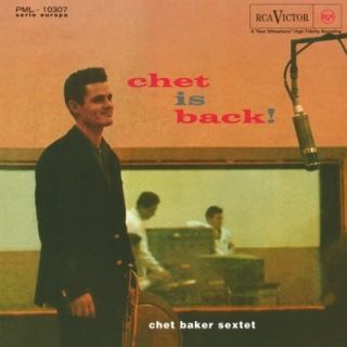 vinyl LP CHET BAKER Chet Is Back!