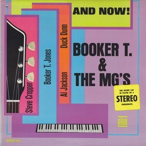vinyl LP BOOKER T AND THE MG'S  And Now!