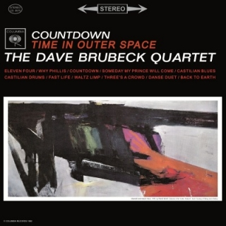 vinyl LP DAVE BRUBECK Countdown: Time In Outer Space
