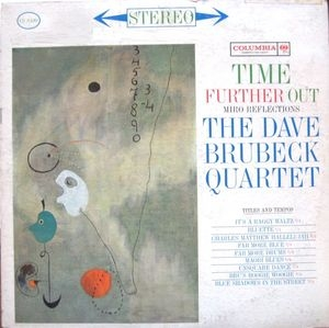 vinyl LP THE DAVE BRUBECK QUARTET Time Further Out