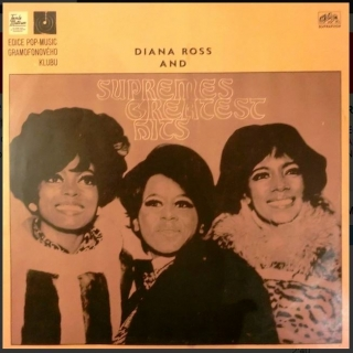 vinyl LP DIANA ROSS and SUPREMES Greatest HITS