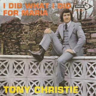 "vinyl 7""SP TONY CHRISTIE I Did What I Did For Maria"