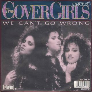 "vinyl 7""SP THE COVER GIRLS We Can't Go Wrong"