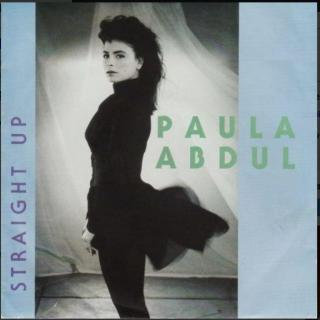 "vinyl 7""SP PAULA ABDUL Straight Up"