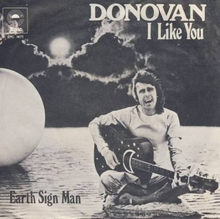 "vinyl 7""SP DONOVAN - I Like You"